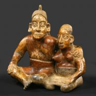 Sculpture COUPLE ENLACE de la Galerie Mermoz