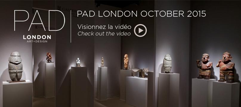 PAD London 2015 Exhibition by Galerie Mermoz