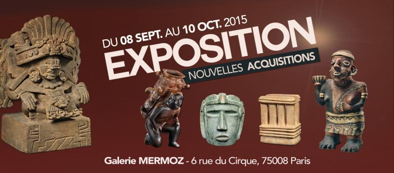 EXHIBITION SEPTEMBER 2015 by Galerie Mermoz